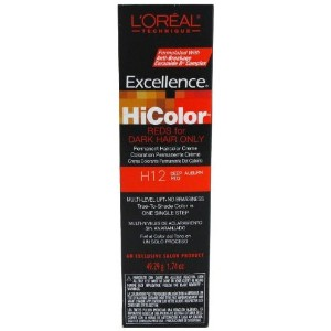 L`Oreal Excellence HiColor Deep Auburn Red 1.74 oz