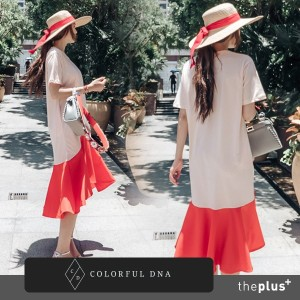 ★COLORFUL DNA★ cosmo dress (2 color) /DESIGN BY KOREA /Korea famous fashion blogger Recommended...