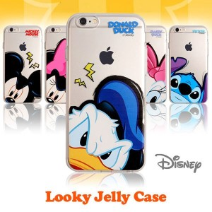 ブランド 公式 ライセンス [DISNEY] LOOKY JELLY CASE ケース iPhone 6/S iPhone 6/S Plus G920(Galaxy S6) G930(Galaxy...