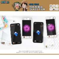 iPhone 6/S 6/S Plus 7(4.7) 7 Plus Galaxy S7 Note 5 ケース ONE PIECE TEMPERED GLASS 2017 プレミアム ケース GIFT!