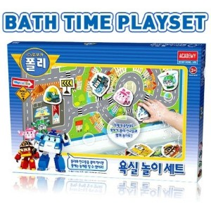 ★Bath time playset★ Toys / Make / Robocar Poli / Childrens gifts / Character toys / Birthday gifts ...