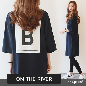 ★ontheriver★ SuperSale ★ Long Boxy Dress / High Quality / Basic Design / Plus Size / Korean fashion