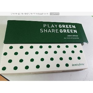 ★Innisfree★ Eye Contouring Palette/ Play Green Share Green [2016 Green Day Limited Edition] 1g