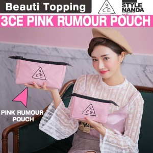 [BEAUTI TOPPING]{3CE}3CE PINK RUMOUR POUCH