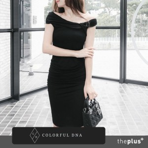 ★COLORFUL DNA★midnight dress (3 color) /DESIGN BY KOREA /Korea famous fashion blogger Recommended...