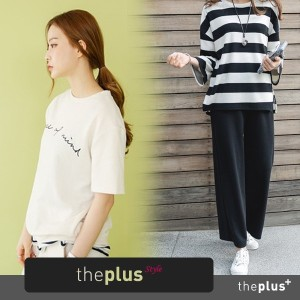 ★theplus★ Training Set / Top / Pants / アットホーム セット