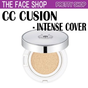 ★The Face Shop★[Intense Cover] CCクッションインテンスカバーSPF50+PA+++(15g)