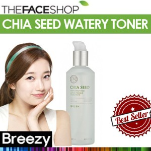 BREEZY ★ BREEZY ★ [THE FACE SHOP] Chia Seed Watery Toner 145ml /
