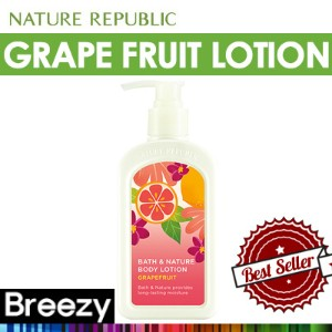 BREEZY ★ [Nature epublic] Bath and Nature Grape Fruit Body Lotion 250ml /