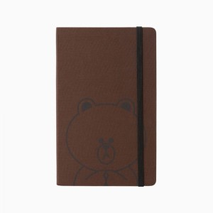 [NEW] MOLESKIN x LINE FRIENDS 2017 Official Brown Large Size Diary (Weekly)