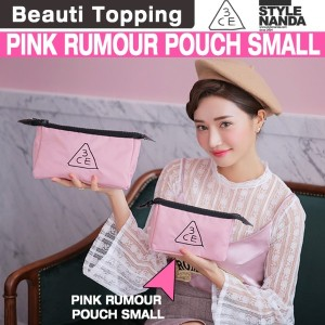 [Beauti Topping] {3CE} 3CE PINK RUMOUR POUCH_SMALL