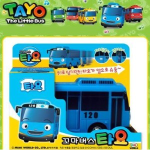 The Little Bus TAYO toy car children ちびっこバス タヨ - タヨ New