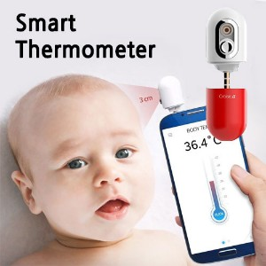 [Smart thermometer] Croise.A / Mobile thermometer ★ smartphones Equipped ★ Temperature things...