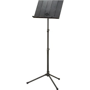 [アメリカ直送]Peak Music Stands Portable Music Stand Black