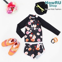[HowRU Shop] ★ Swim Wear - Set ★ Rash Guard Swimming Clothes / Korea Kid Top Brand / Korean Cute...