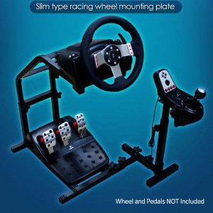 Logitech Driving Gaming Mounting Plate GT G29 G27 G25 Slim Racing Wheel Stand / Realistic Driving...
