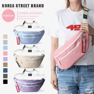 [BUBILIAN] Korea Street Brand / Korea and Japan Best Selling Waist bag / Basic Hipsack / Travel Bag...
