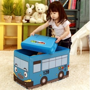 The Little Bus Tayo Make Up Case/Infant arrangement case