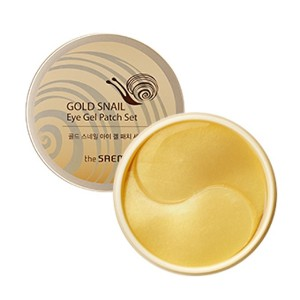 ★WHOLE SALE★[The Saem] Gold Snail Eye Gel Patch Set 100g - KOCOHUB