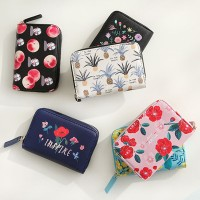 [Made In Korea][SWEET MANGO] WITH ALICE Rim Accordion Card Wallet - [ 韓国入れ 小銭入れ コインポーチ コインケース 女性入れ...