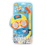 PORORO Character Snorkeling SET 764842 / Kids Water Pool Play / Waterplay Snorkeling Toy Set [FREE...