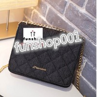 2016 Korean version of the denim small square package summer new handbag chain shoulder bag...