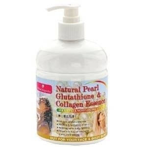 NATURAL PEARL WHITENING LOTION WITH SPF GLUTATHIONE & COLLAGEN-LARGE 500ML Revitalize rejuvenate....