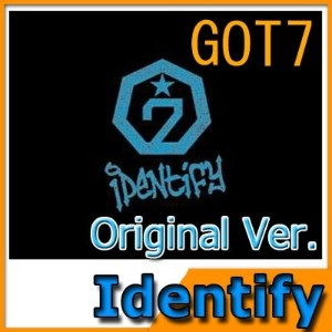 GOT7 1st album Identify Original Version/ゴッドセブン/jyp