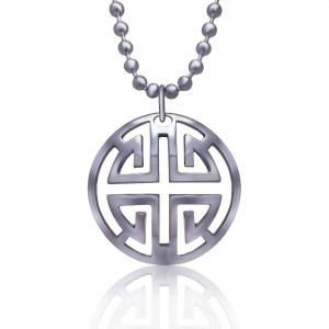 Stainless Steel New Fashion Jewelry Men&women Biker Pendant Necklace Cool Pendant Necklace