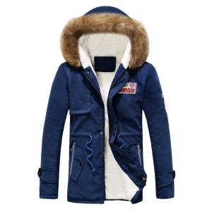2016 Autumn Winters Added Flocking Cotton padded Clothes Fashion Coat Couple Long Warm Cotton...