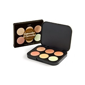 [Direct from USA] BH Cosmetics 6 Color Concealer & Corrector Palette