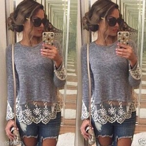 Women Long Sleeve Loose Cardigan Knitted Sweater Pullover Knitwear Outwear Coat