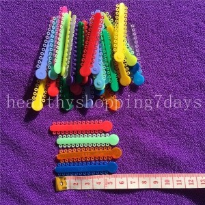 Dental Orthodontic ligature ties multi-colored? 30 pcs/bag (Color: Multicolor)