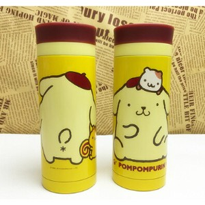 Pompompurin Pudding Dog Super cute Insulation Cup Cold bottle Thermos