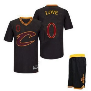 Cavaliers Black Short Sleeve Basketball Wear