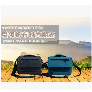 Camera bag Canon 750D760D70D6D5D3 SLR camera bag Nikon D7100 D7200 canvas shoulder