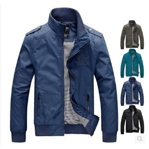 The new men s casual thin section of leisure collar jacket
