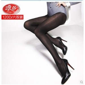 Singapore Langsha velvet pantyhose stovepipe socks anti-snagging female backing winter thick socks...