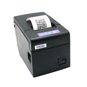 Hoin High-speed 58mm POS Dot Receipt Paper Barcode Thermal Printer USB+WiFi for Supermarket Store...