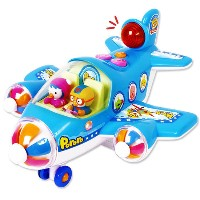PORORO Sky AirPlane Toy / Sky Travel Air Plane / Melodies&Light Air Plane Toy / Educational Toys...