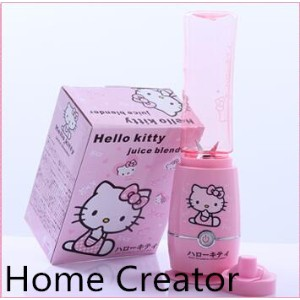 helloKitty cat Multifunctional juice machine baby mini small household electric mixer fruit juicer