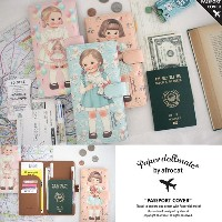 [Afrocat][Made In Korea][Genuine]Korea AFROCAT Paper Roll Mate PASSPORT COVER L Large Case Travel...