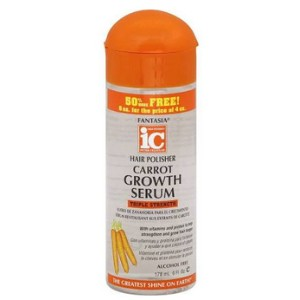 Fantasia Hair Polisher Carrot Growth Serum 6 oz
