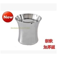 The new stainless steel ashtray creative Y vehicle wind ashtray ashtray ashtray Hotel sanding
