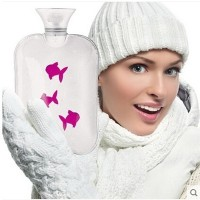 German imports fashy water-filled water bottle thick ice fish warmth handbags explosion Hand Po 2L