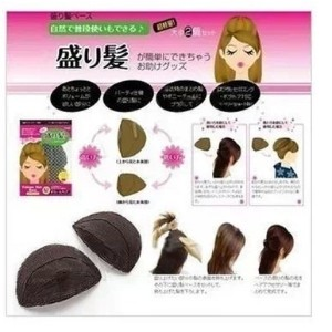 Japanese Princess fluffy hair increased / puff paste  6