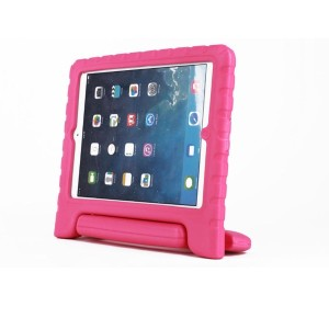 For iPad mini 1 2 3 Case Pink Shockproof Case Light Weight Super Protection Cover Handle Stand Case...