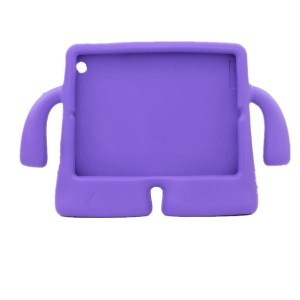 For ipad air Case Purple Shockproof Protection Case Cover Skin Handle Stand Case for Kids Children...
