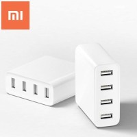 XIAOMI 4 USB charg porters with 2A fast charg 4ポート usb充電器 デスクトップ USB-ACチャージャースマホ タブレット スマートフォン...