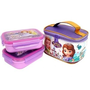 ★ディズニー ソフィア 弁当 / Sofia 2 tier stainless lunchbox / Disney Sofia rectangle lunch box